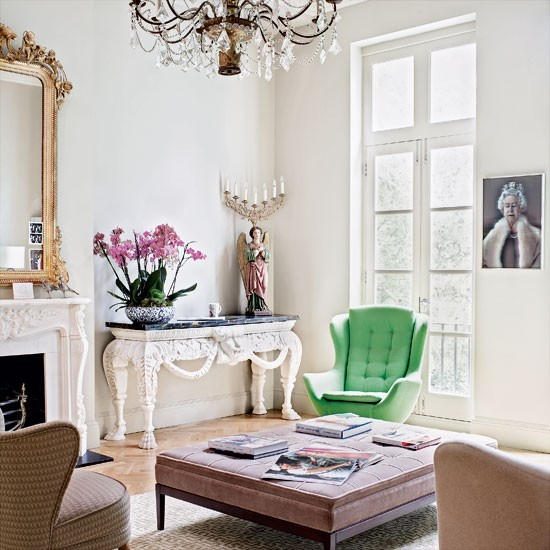 lving etc green chair Living-room