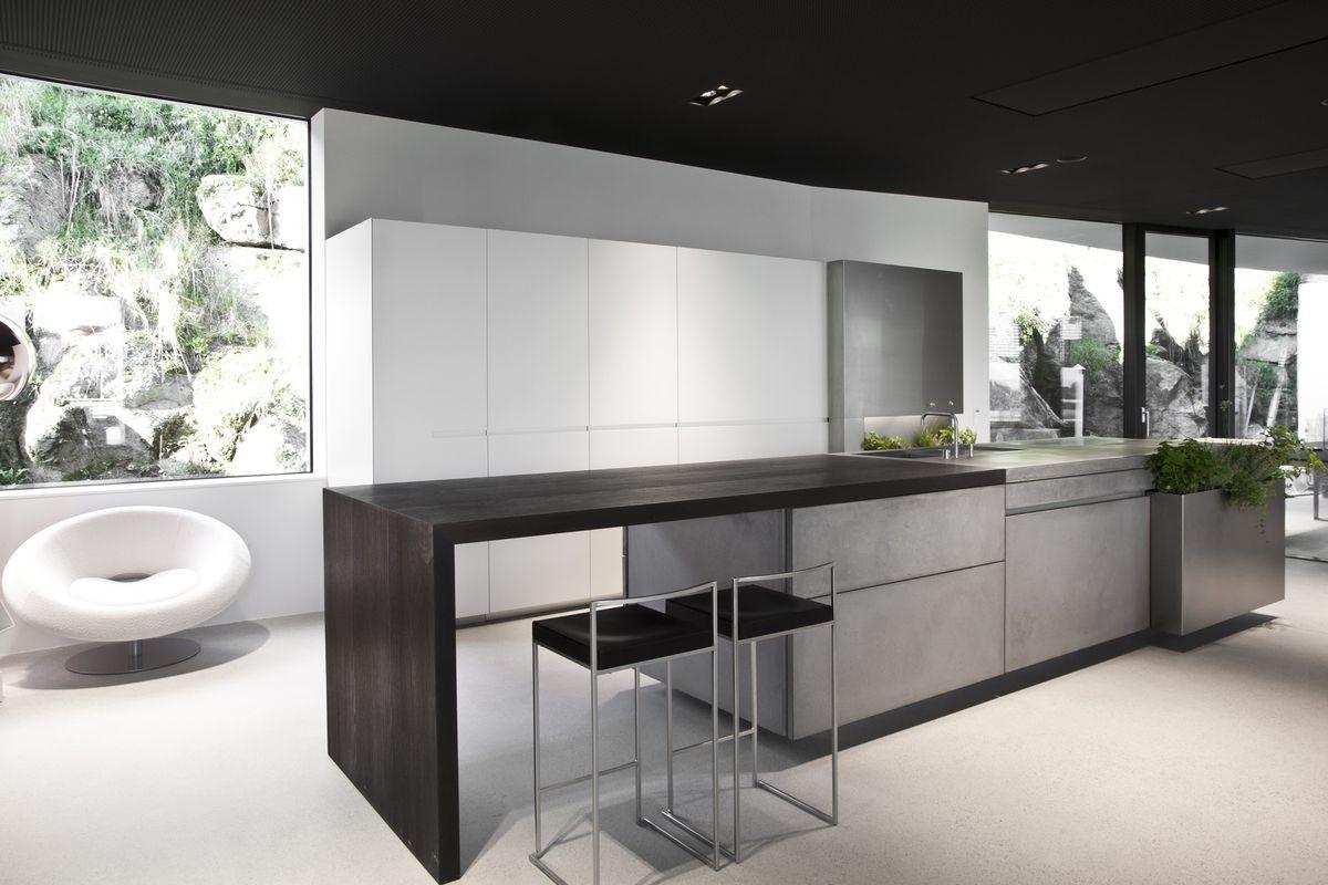 150926 breakfast bars steininger concrete kitchen
